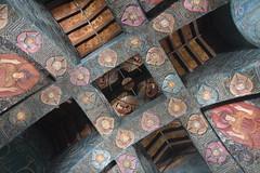 Watts Chapel Ceiling (PLawston) Tags: uk britain england surrey north downs compton watts chapel ceiling