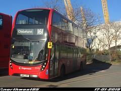 12449 (northwest85) Tags: stagecoach london plumstead sn67 xep 12449 alexander dennis adl enviro 400mmc 161 chislehurst north greenwich bus sn67xep