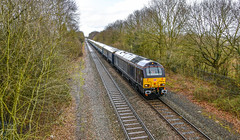 67006 at Whitacre Heath (robmcrorie) Tags: 67006 burton wetmore wembly 5z77 somerset strummer empty stock ecs nikon d850 class 67 whitacre heath