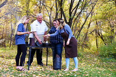 Cooking Outside (UtahScouts) Tags: pumpkin dutchoven barebones voiceofscouting thanksgiving fall recipes