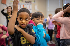 Universal Children's Day (Phil Roeder) Tags: desmoines iowa desmoinespublicschools hooverhighschool mooreelementaryschool universalchildrensday students student school education canon6d canonef50mmf18