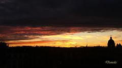 Roma - Italy (Biagio ( Ricordi )) Tags: roma italy tramonto sunset città nuvole chiesa lazio daniela papa vaticano