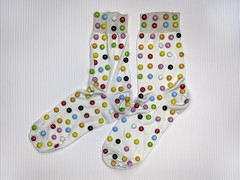 the befana socks.. (Antonio Iacobelli (Jacobson-2012)) Tags: befana socks calze smarties mediumformat bari fujifilm gsx50r