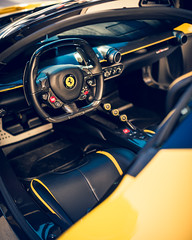 Yellow Trim (Noah L. Photography) Tags: laferrari yellow car sportscar supercar hypercar hybrid hingwalee carsandchronos walnut nikon55mmf12ai