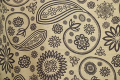 Thai Pattern (561jaclyn) Tags: thai thailand pattern fabric tapestry asia asian technique design style cloth flowers floral flower geometric print macro