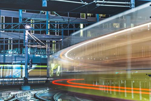 Zoef daar was weer een tram op CS Den Haag
