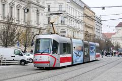 BRN_1913_201811 (Tram Photos) Tags: skoda škoda 13t brno brünn strasenbahn tram tramway tramvaj tramwaj mhd šalina dopravnípodnikměstabrna dpmb