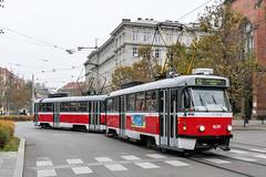 BRN_1639_201811 (Tram Photos) Tags: ckd tatra t3g brno brünn strasenbahn tram tramway tramvaj tramwaj mhd šalina dopravnípodnikměstabrna dpmb t3
