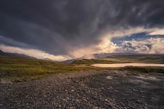 Caught up by the rain (Sizun Eye) Tags: iceland highlands lake rain nature unfrequented wild herdvarvatn badtrack track adventure travel sizuneye weather easternfjords nikond750 nikon1424mmf28 1424mm nikkor