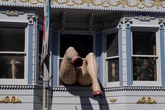 Fragilé (Dominic Sagar) Tags: amy arlen felsen friends sanfrancisco window legs shoes california unitedstates us