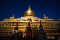 Shwezigon Pagoda (dawvon) Tags: bagan historicalbuilding buddhism landscape asia travel southeastasia architecture myanmar shwezigonpagoda mandalayregion stupa pagoda burma mandalay republicoftheunionofmyanmar shwezigonpaya ပြည်ထောင်စုသမ္မတမြန် ရွှေစည်းခုံဘုရား nyaungu myanmarburma ပြည်ထောင်စုသမ္မတမြန်မာနိုင်ငံတော်