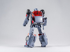 DSC00204 (KayOne73) Tags: sony a7riii nikon 40mm f 28 micro macro transformers toys figures 3rd party robot action masterpiece mp x transbots flipout wildrider stuntacon