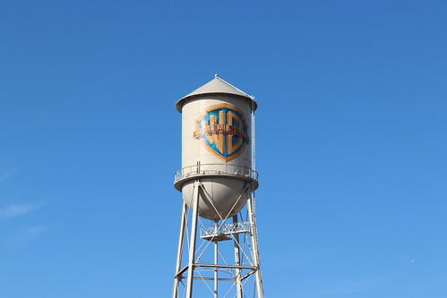 "Warner Brothers Water Tower • <a style=""font-size:0.8em;"" href=""http://www.flickr.com/photos/28558260@N04/45278828475/"" target=""_blank"">View on Flickr</a>"