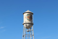 """Warner Brothers Water Tower • <a style=""""font-size:0.8em;"""" href=""""http://www.flickr.com/photos/28558260@N04/45278828475/"""" target=""""_blank"""">View on Flickr</a>"""