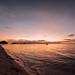A tour boat resting over the horizon, Punta Bulata