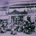 Motorcylces in front of the Empire Theatre circa 1920