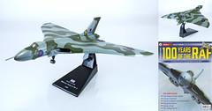 PWI-RAF-03-Vulcan (adrianz toyz) Tags: adrianztoyz 1144 scale aircraft raf magazine idealistic 100yearsoftheraf idealisticltd coldwar bomber avro vulcan b2 xh558