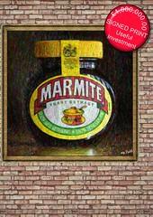 Marmite - Love It or Hate It? (Mr_Pudd) Tags: food yeastextract pictureframe mockup brick brickwall nikond750 nikon justforfun £1000000 marmiteyoueitherloveitorhateit hate love marmite