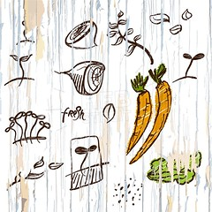 vegetables on wooden background (Hebstreits) Tags: agriculture autumn background border breakfast cartoon day design fall farm festival flat food frame fresh fruit green harvest healthy illustration label leaf logo lunch market mexican natural nature nutrition organic poster pumpkin red retro salad sign table thanksgiving tomato top turkey vector vegetable vegetables vegetarian view vintage white wood wooden