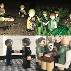 Contrast (BPheenz93) Tags: lego military war afol brickarms citizenbrick tmc brickmania