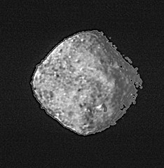 The Asteroid Bennu, cropped variant (sjrankin) Tags: 2november2018 edited nasa bennu asteroid rubble grayscale osirisrex 20181029t1019utbennu