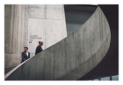 Stairs (ashtennisguru) Tags: portrait tatemodern landscape retro shade street fujix light streetphotography outdoor texture 35mm fujifilm red vintage shadows colour xt3 silhouette candid travel saulleiter people fuji architecture contrast city europe uk detail
