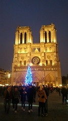 35 Paris décembre 2018 - devant Notre-Dame de Paris (paspog) Tags: paris france décembre december dezember night nuit nacht notredamedeparis cathédrale cathedral