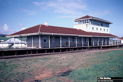 3797 Brunswick Junction Railway Station 18 June 1983 (RailWA) Tags: railwa philmelling westrail 1983 brunswick junction railway station