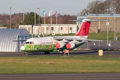 5A-FLF RJ100 Prestwick 18.11.18 (Robert Banks 1) Tags: 5aflf rj1h rj100 british aerospace prestwick egpk pik swiss swr air libya