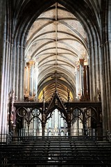 Light. (ianmiller6771) Tags: light worcesteruk cathedral building interior fuji xt1 goodlight patterns colours symmetry