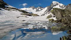 Grätlisee - Wallis - Schweiz (Felina Photography - www.mountainphotography.eu) Tags: galenstock urneralpen grätlisee wallis valais vallese lac see meer lake lago laghetto frozen ice giaccio gelato ghiacciato acqua water wasser cold kalt eis ijs gefroren