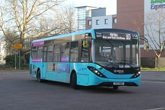 Arriva Kent Thameside / Arriva Southern Counties . 4087 YX17NHE . Harlow Bus Station , Essex . Tuesday 08th-January-2019 . (AndrewHA's) Tags: essex harlow bus station arriva kent thameside southern counties alexander dennis e20d adl enviro 200 mmc 4087 yx17nhe route 10 church langley branded 508 509 510