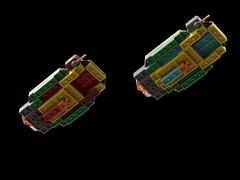 Caal-Shto (2) (kylerjadams) Tags: hiigaran kushan carrier space lego moc homeworld