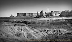 How the Country Would Change (deColoresPhoto) Tags: decoloresphoto nikon d810 arizona monumentvalley sandstone landscape captureonepro blackandwhite