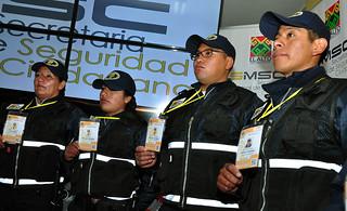 SMSC PRESENTA  UNIFORMES Y CREDENCIALES PARA FUNCIONARIOS DE LA INTENDENCIA Y GUARDIAS MUNICIPALES (7)