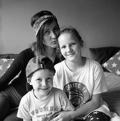 family portrait (cedricmarino) Tags: yashica 124g square portrait monochrome film analog family
