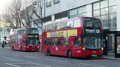 Two Types Of C3 (londonbusexplorer) Tags: abellio london adl enviro 400 mmc 2534 yy16yka 2414 sn61dgx c3 earls court tesco clapham junction tfl buses