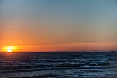 Sun's up..;) (Jims_photos) Tags: southpadreisland water texas topazlabssoftware topazsoftware topazlabs texascoast unitedstates outdoor outside ocean adobelightroom adobephotoshop shadows sunnyday sunrise daytime fishingboat jimallen jimsphotos jimsphotoswimberleytexas lightroom cloudy clouds coastalscene nopeople nikond750 morninglight