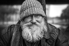 """#254 """"What the hell are you doing on this planet?"""" (Hendrik Lohmann) Tags: streetphotography streetportrait strasenportait series portraits project people portrait whatthehell düsseldorf portraitseries nikonphotographer nikondf"""