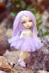 Enjoying Nature ☆ (Shimiro Doll Photography) Tags: bjd doll balljointeddoll abjd dollphotography dolls toy toyphotography portrait bjdphotography custombjd customdoll nikon pukifeeante pukifee cute kawaii pastel fairyland