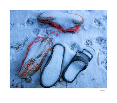 Neon (agianelo) Tags: snow color shoes
