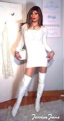 White Butterfly (jessicajane9) Tags: tg crossdresser tgurl crossdressing transvestite cd feminised trans xdress tranny boots transgender crossdress tv feminization travesti m2f tgirl femme