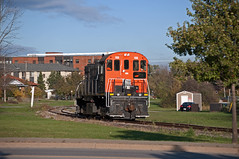 Light Move (TRRY3582) Tags: trillium train 108 thorold