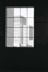Ben Lomond Hotel Garage has become The Monarch art studios and creative space in Ogden, Utah. (Shaun Nelson) Tags: canoneos10s kodakd76 kosmofotomono100 canon10s kosmo kosmofoto kosmofotomono monarch benlomond benlomondhotel themonarch film filmphotography canonphotography filmisnotdead 35mm analog ishootfilm filmcamera believeinfilm filmcommunity analogphotography staybrokeshootfilm filmfeed ogden ogdenutah otown ogdenisawesome utahfilmphotography utahfilmphotographycom