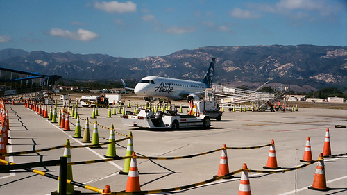 Alaska Airlines at Santa Barbara