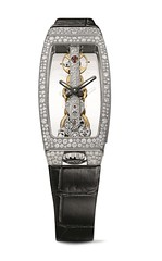 "CORUM – Bridges GOLDEN BRIDGE MISS ""Snow"" White Gold Exclusively Diamonds (Watches 7) Tags: corum bridges goldenbridge 2018 2019 christmas snow jewellery diamonds diamond gold"