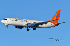C-GFEH Sunwing Airlines Boeing 737-8GS DSC_1989 (Ron Kube Photography) Tags: aircraft plane flight airliner nikon nikond500 d500 ronkubephotography yyc calgary calgaryinternationalairport cgfeh