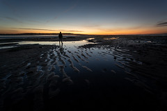 Always Look Back (Rob Pitt) Tags: morning sky beach lines canon 1740 f4 l west kirby wirral sony a7rii