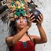 Woman in Mayan Dress - Pisté, Yucatán, México