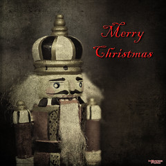 Merry Christmas (MBates Foto) Tags: availablelight bokeh christmas color indoors inspire inspiration inspirational nikkorlens nikon nikond810 nikonfx nutcracker textures spokane washington unitedstates 99203